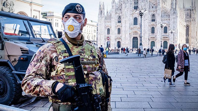 Итальянские заправки объявили о 48-часовой забастовке на фоне коронавируса