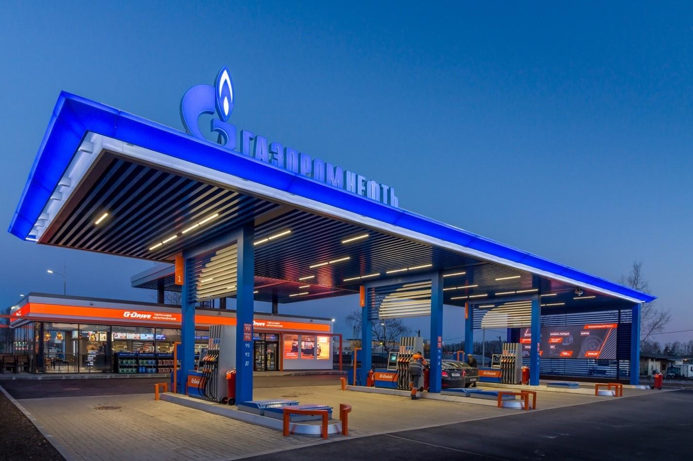 «Газпром нефть» в I квартале снизилась среднесуточная реализация топлива через одну на АЗС 9,4%
