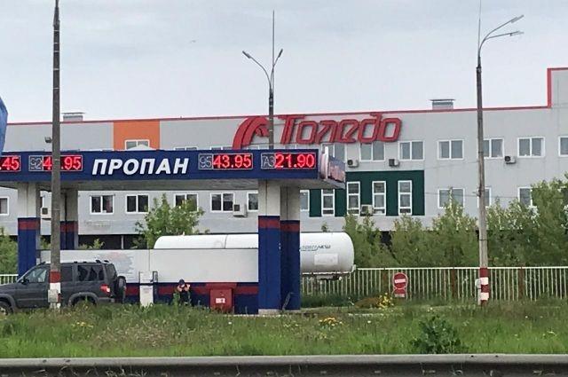 Нижегородцы заметили взрывной рост цен на газ на заправках