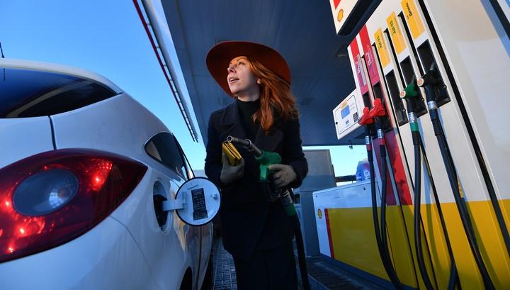 В России резко вырос спрос на бензин