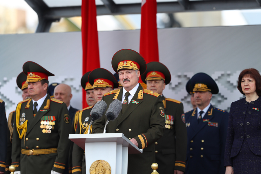 9 Мая. Парад в честь 75-летия Великой Победы. г. Минск