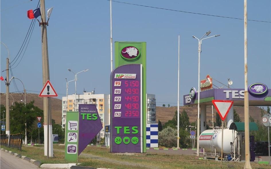 А вы знаете, сколько стоит бензин на съезде с Крымского моста?