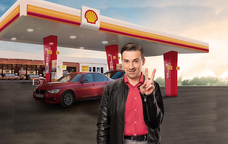 Специальное предложение на Shell v-power