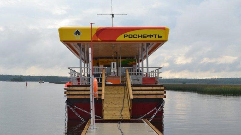 Новый сервис на базе Яндекс.Заправки доступен на 5 речных заправочных станциях в Санкт-Петербурге