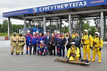 Учения на Новгородской нефтебазе