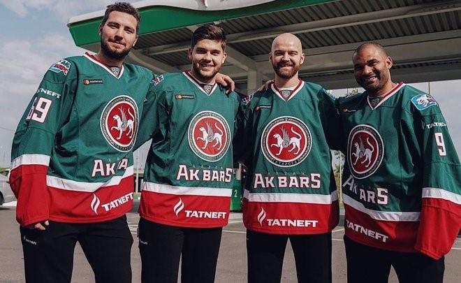 «Ак Барс» презентовал четырех новичков клуба на АЗС