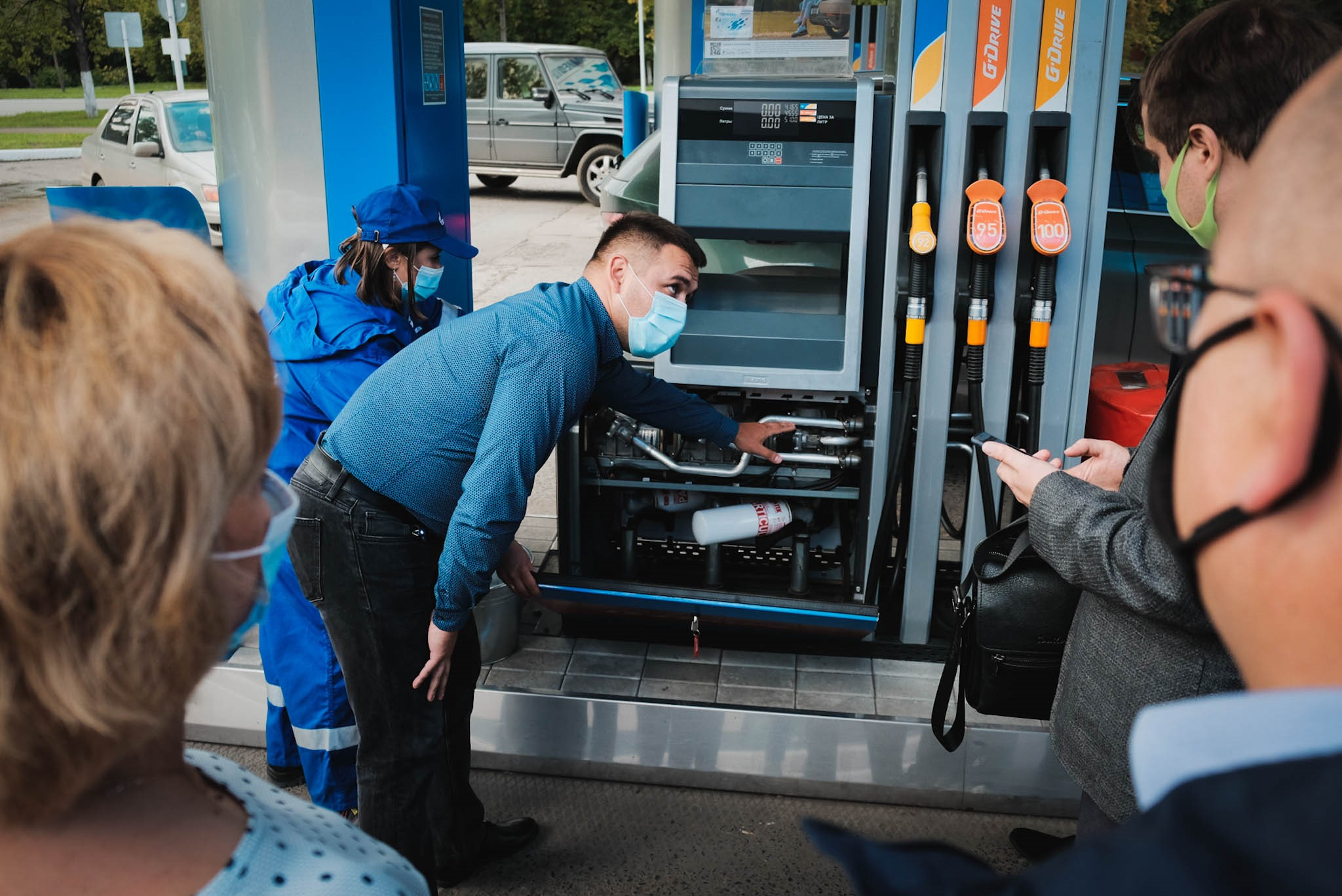 Преподаватели СибАДИ оценили систему контроля качества на АЗС «Газпромнефть»