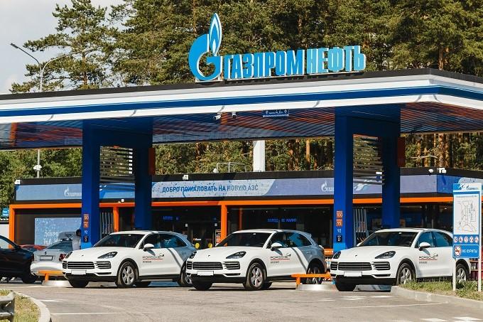 Сеть АЗС «Газпромнефть» заправит участников Porsche Travel Experience Russia