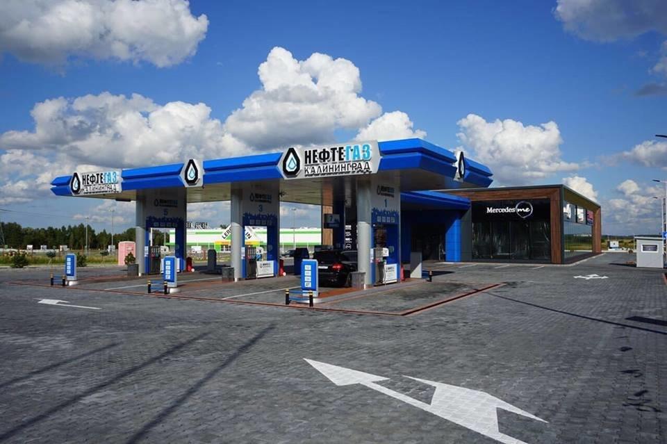 Бензин в Калининграде стоит на 2,6 рубля дороже, чем в среднем по России