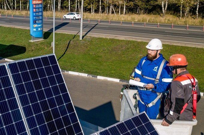 Альтернативные источники электроэнергии обеспечат работу АЗС «Газпромнефть»