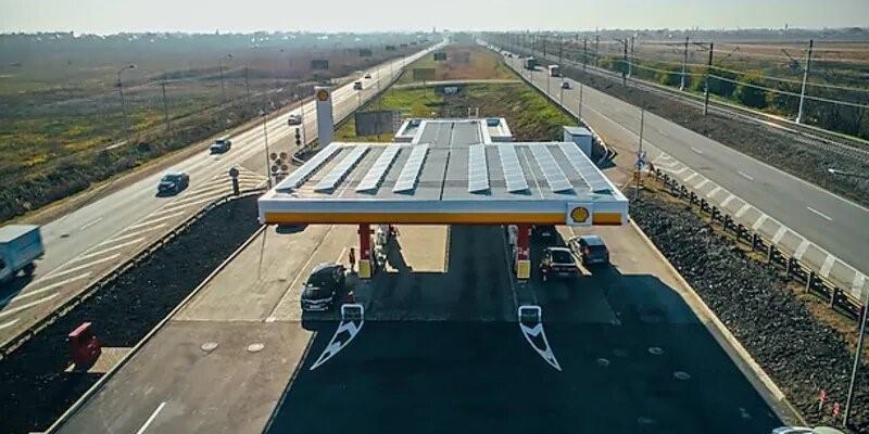 Shell открыла в Адыгее АЗС, работающую на солнечной энергии