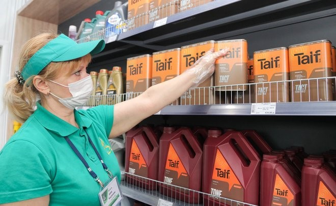 В сети «ТАИФ-НК АЗС» стартовали продажи моторных масел Taif Lubricants
