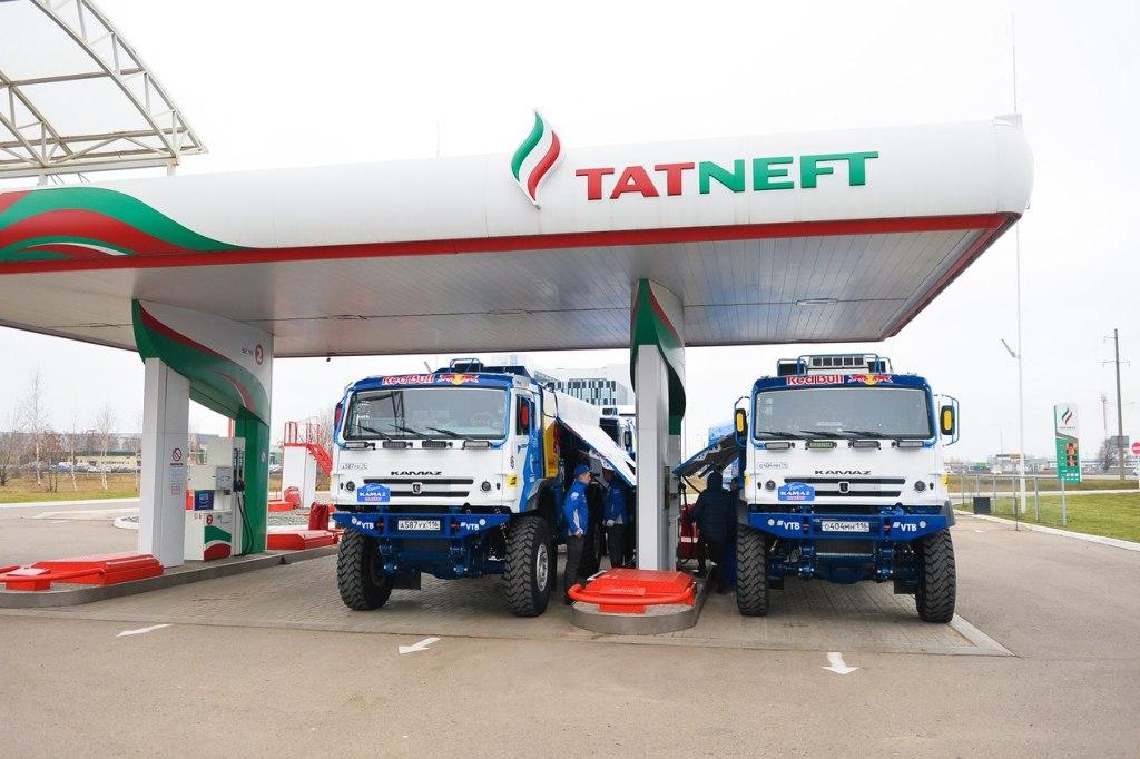 «Татнефть» и «КАМАЗ» запустят совместную сеть СПГ-заправок