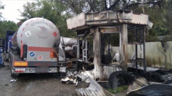 В Самаре возбудили уголовное дело после утечки газа и пожара на АЗС