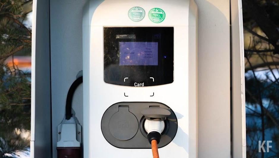 Сеть зарядных станций для электромобилей появится на АЗС в Татарстане